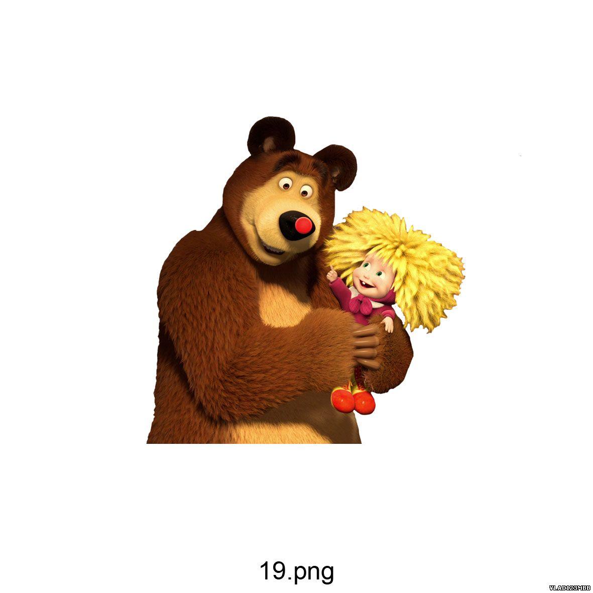 клипарт маша и медведь: